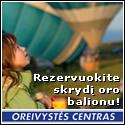 www.oreivystescentras.lt – rezervuokite skrydį oro balionu!