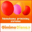 GimimoDiena.lt - Nemokama Gimtadienių priminimų ir dovanų sąrašo sistema