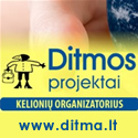 Kelioni organizatorius - DITMOS projektai