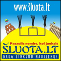Lietuvos humoro ir satyros linksmatinklis www.sluota.lt