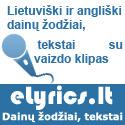 Elyrics.lt – lietuviški ir angliški dainų žodžiai, tekstai
