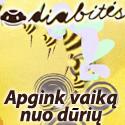 """""""Diabitės"""" – paaukok cukriniu diabetus sergantiems vaikams"""