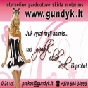 Gundyk.lt – moterims skirta apatinio trikotažo internetinė parduotuvė