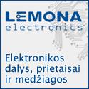 """""""Lemona"""" – elektronikos dalys"""