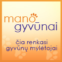 ManoGyvunai.lt – gyvūnų (šunų, kačių) registravimas-identifikavimas, veilės, veterinarijos, informacija apie gyvūnus