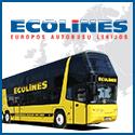 ECOLINES autobusų bilietai, maršrutai ir tvarkaraščiai. Autobusų maršrutai Europoje ir Rusijoje.