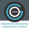 GoSign.lt – elektroninių dokumentų pasirašymo ir mainų paslauga