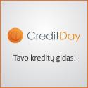 """""""CreditDay"""" – tavo kreditų gidas!"""