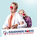 RAUDONOS NOSYS Gydytojai klounai