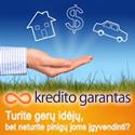 """""""Kredito garantas"""" – refinansavimas, būsto paskola, vartojamosios paskolos, paskolos verslui, studijoms ir bedarbiams"""