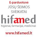 Internetinė parduotuvė Hifamed.lt – higienai, farmacijai, medicinai