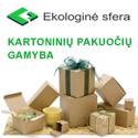 """""""Ekosfera"""" – kartoninių pakuočių gamintoja"""