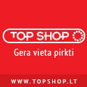 """""""Top Shop"""" e. parduotuvė: sporto prekės, treniruokliai, lieknėjimo, grožio prekės, namai, virtuvė, laisvalaikis"""