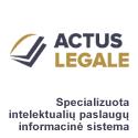 """""""Actus Legale"""" – specializuota intelektualių paslaugų informacinė sistema"""